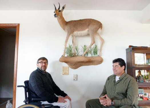 Chuck and Curt Coccodrilli, land owner advocates who put taxidermy on a pedistal.