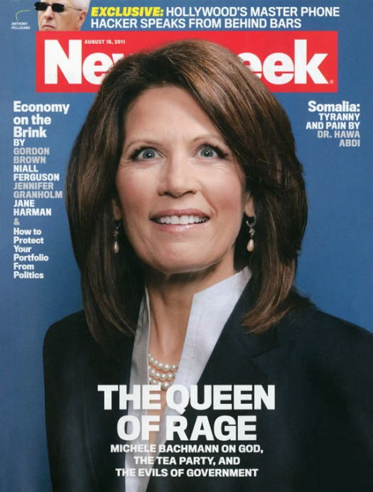 The mother of all Newsweek covers. August 15, 2011 issue.