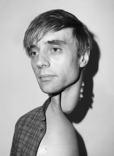 Asger Carlsen, a self-portrait for Bullett Magazine.