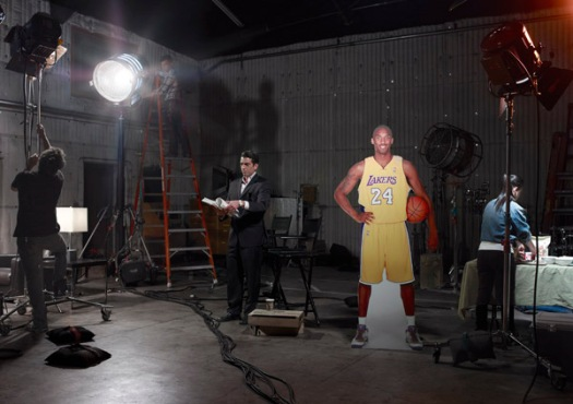 Kobe, behind-the-scenes, sort of.