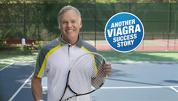 Actor Peter Snider played our confident, if failing tennis player.