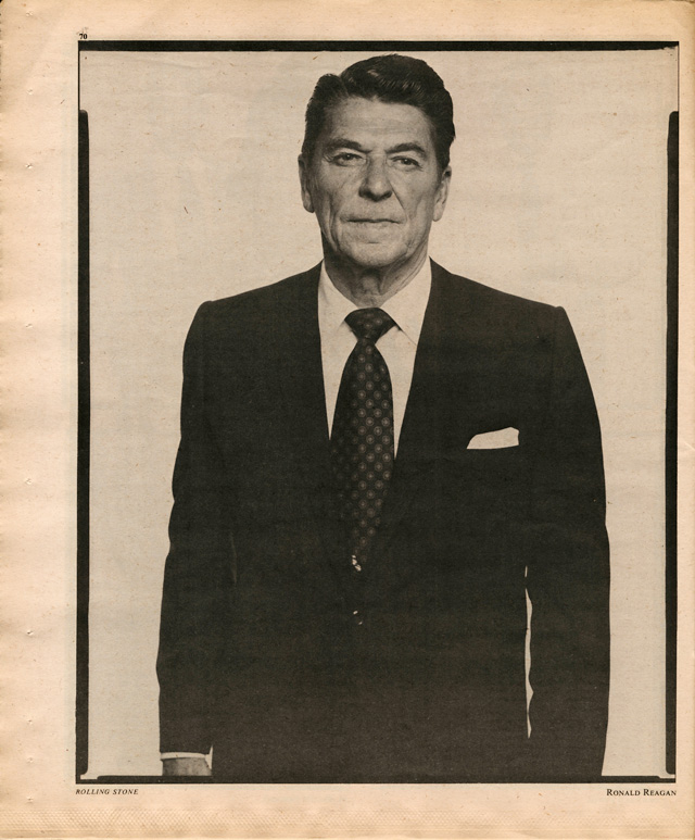 Ronald Reagan, four years before his presidential victory.