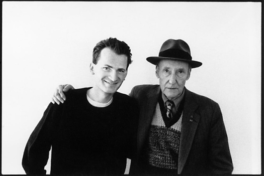 Chris Buck and William S. Burroughs. A snapshot together after their sitting in Toronto, April 25, 1989.